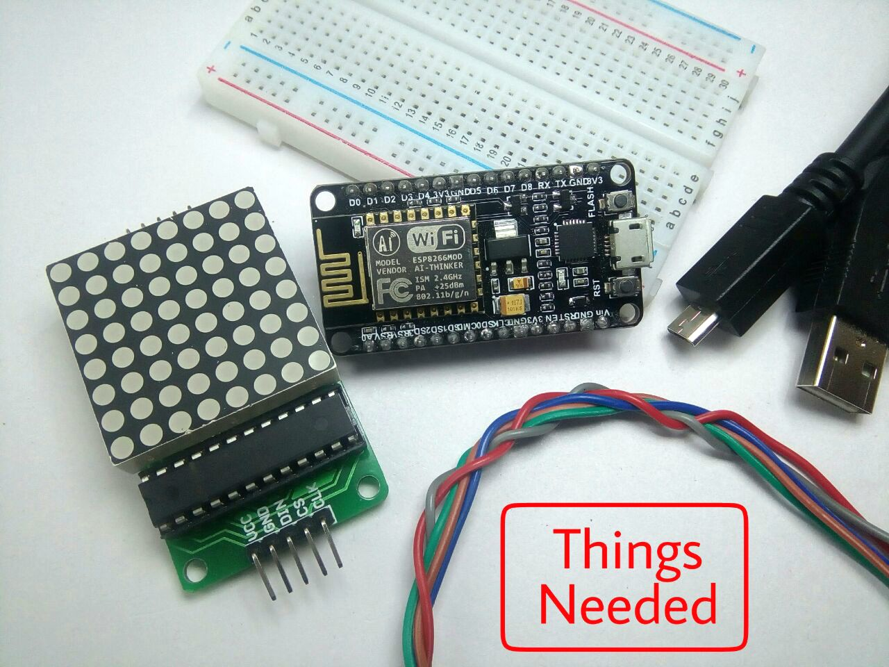 Picture of Things Needed