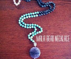 DIY Mala Bead Necklace