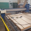Using the 4x4' CNC Router at Twin Cities Maker Hackerspace