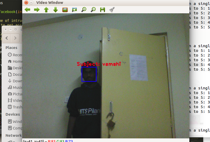 Picture of Analyze Video to Detect & Recognize Faces