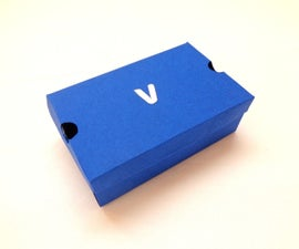 DIY Mini-Papercraft Shoe Box/Gift Box