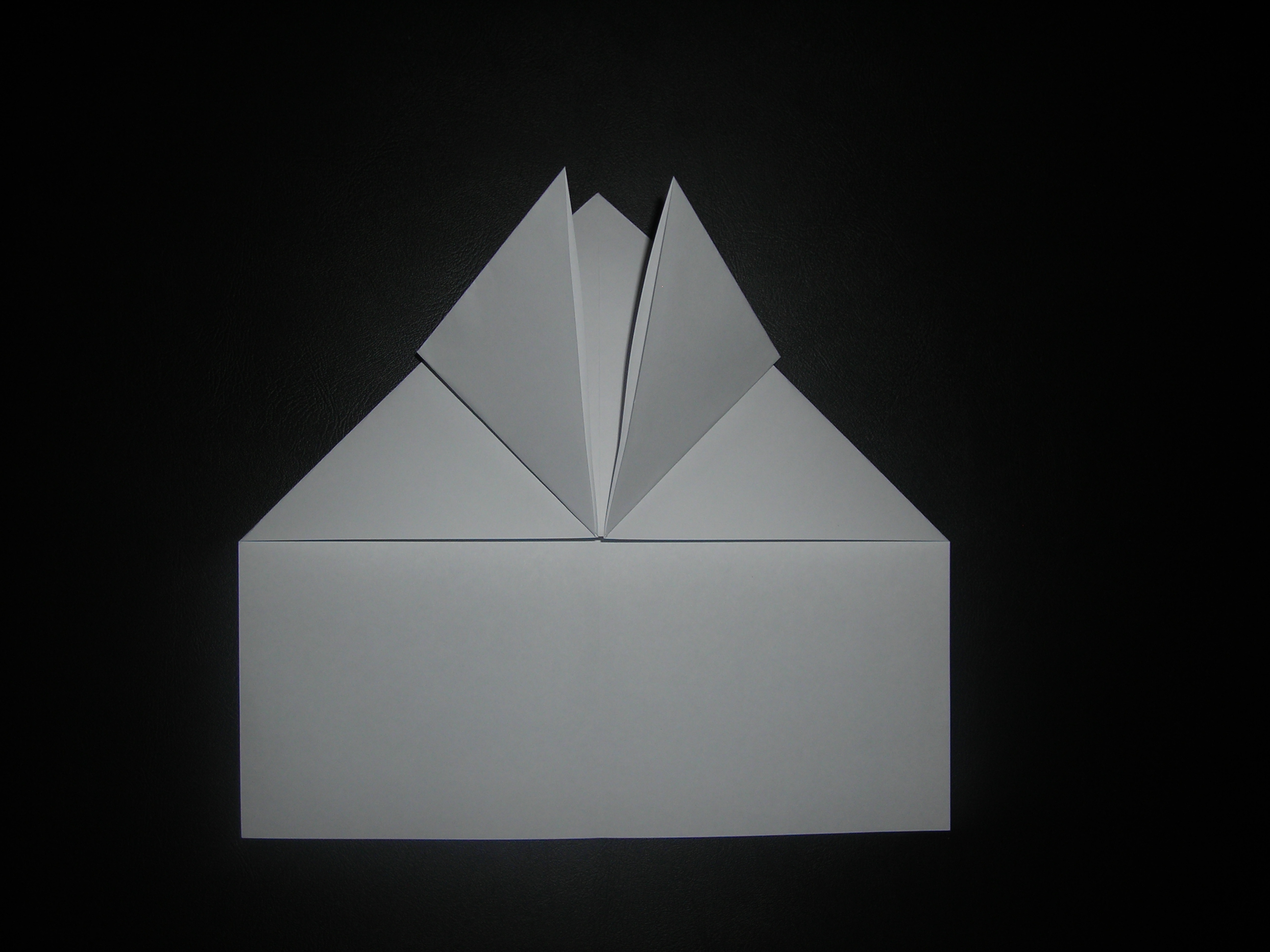 Picture of Fold Up Top Layers Corners