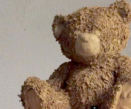 All the process to make clay sculpture - TEDDY BEAR SCULPTURE