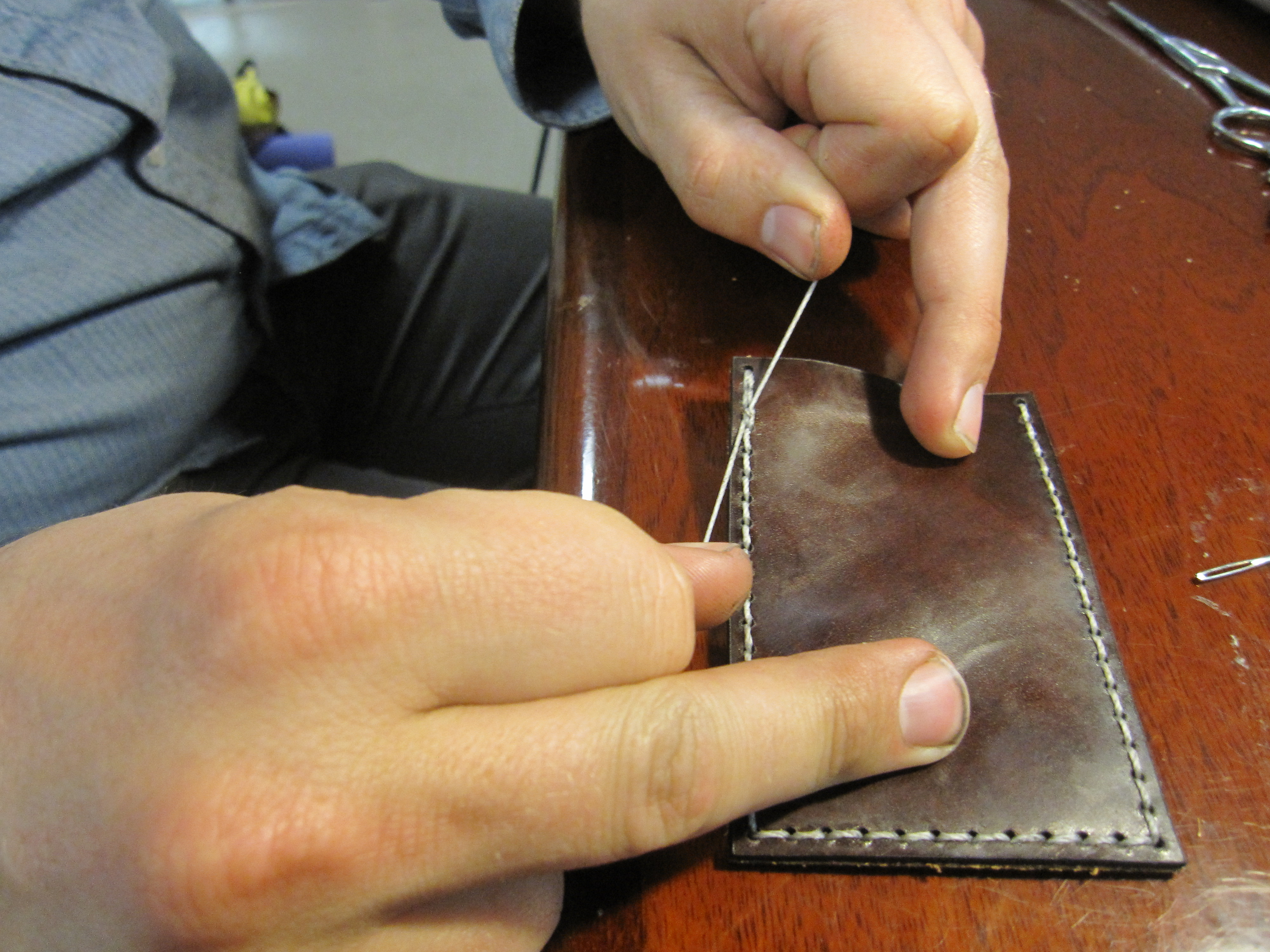 Picture of Sewing the Case and Finishing Up