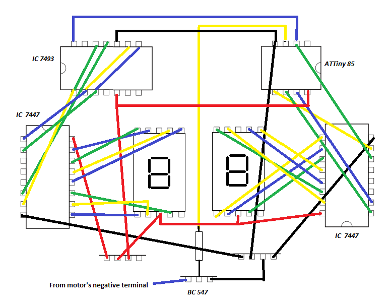 Picture of Bread Board Like Connections