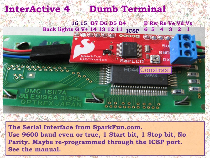 Picture of InterActive 4 Dumb Terminal