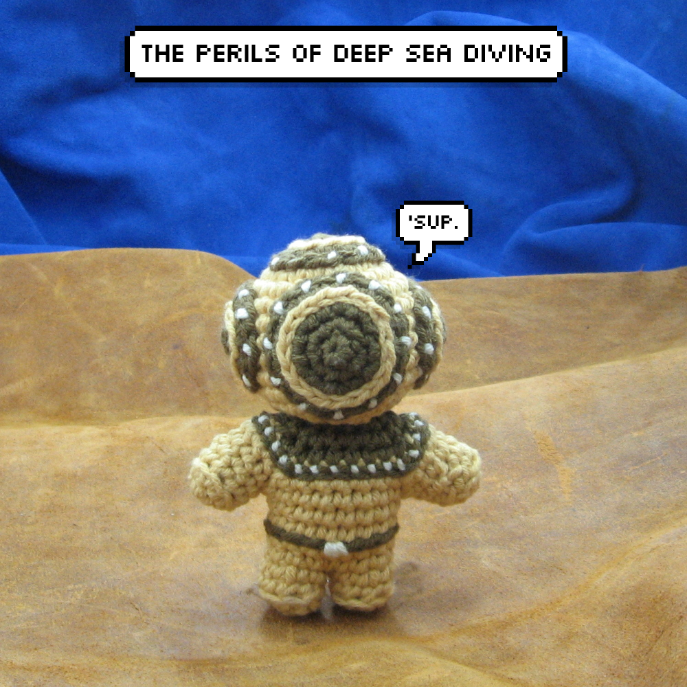 Picture of Amigurumi and the Perils of Deep Sea Diving
