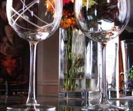 Glass Etched Glasses