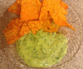 6 Ingredient Avocado Sauce