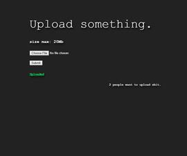 Raspberry Pi File Uploader