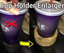 Cup Holder Enlarger