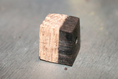 Cut Strips of Wood Into Tiny Squares