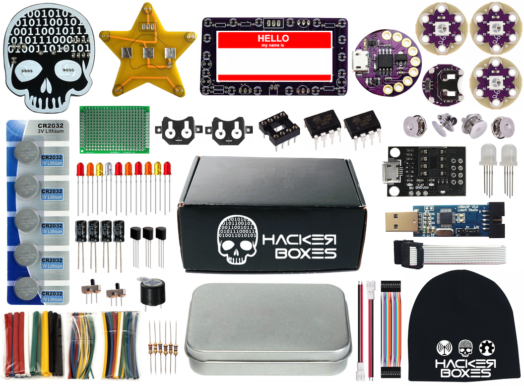Picture of HackerBox 0025: Box Contents
