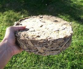 Paper + Wood Shavings Fuel Briquettes