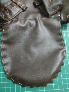 Top Flap and Drawstring