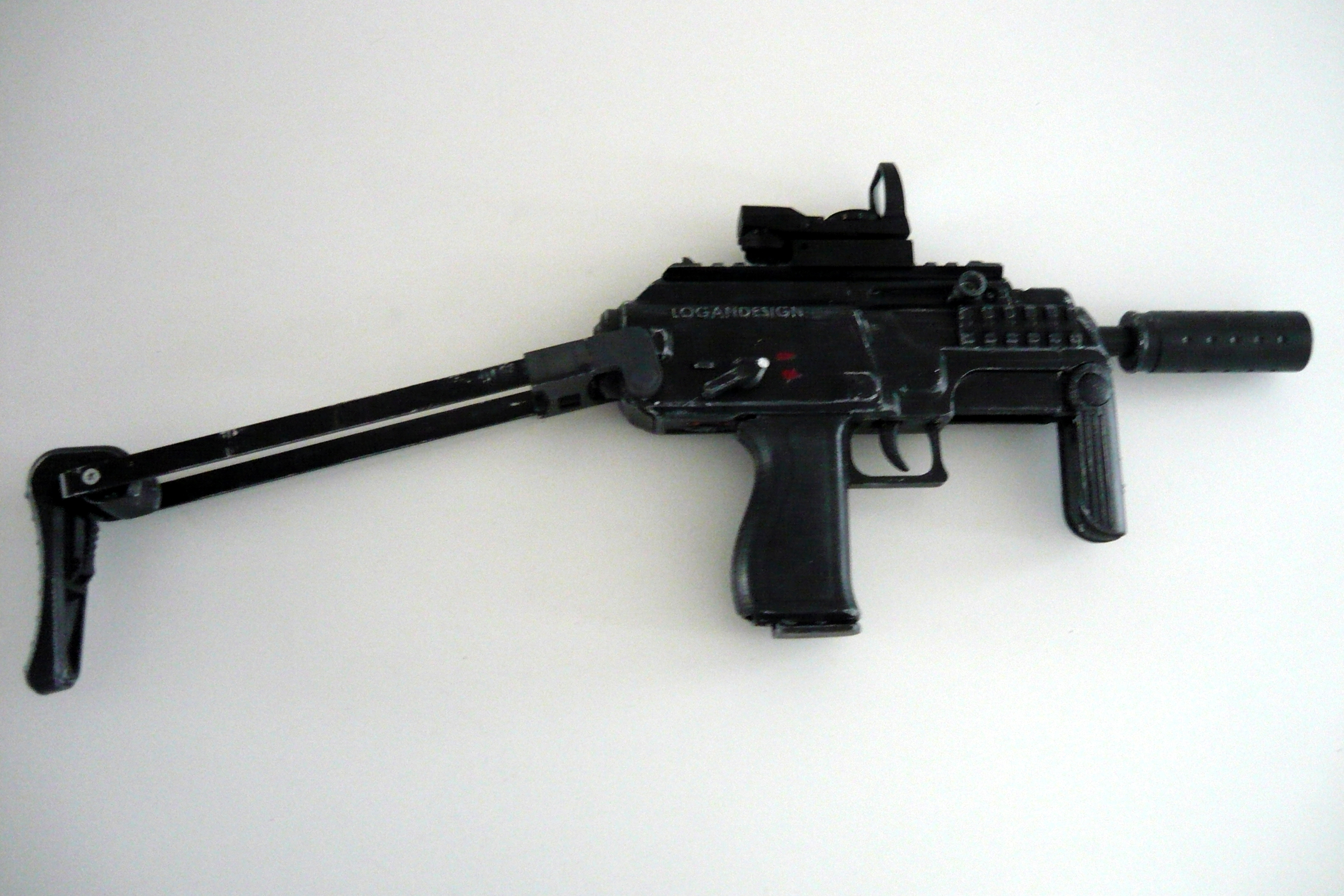 Picture of Printable Airsoft Submachine Gun