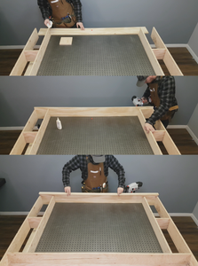 Making the Upper Part