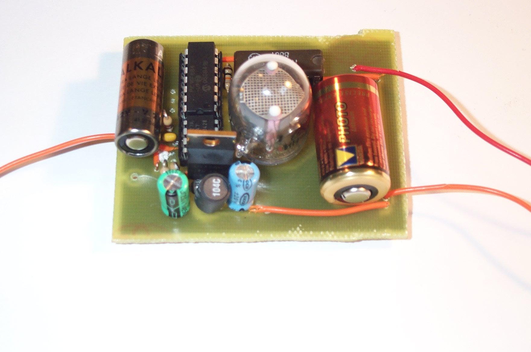 Nixie Watch Part 1 Development Board 5 Steps Circuit Schematic Tube Clock Kit Calculator