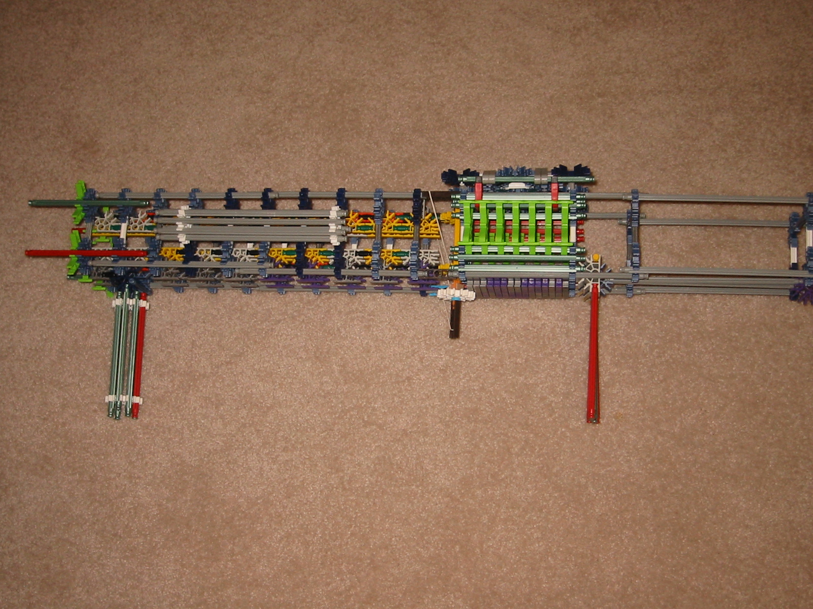 Picture of knex ML9 missle launcher from halo series