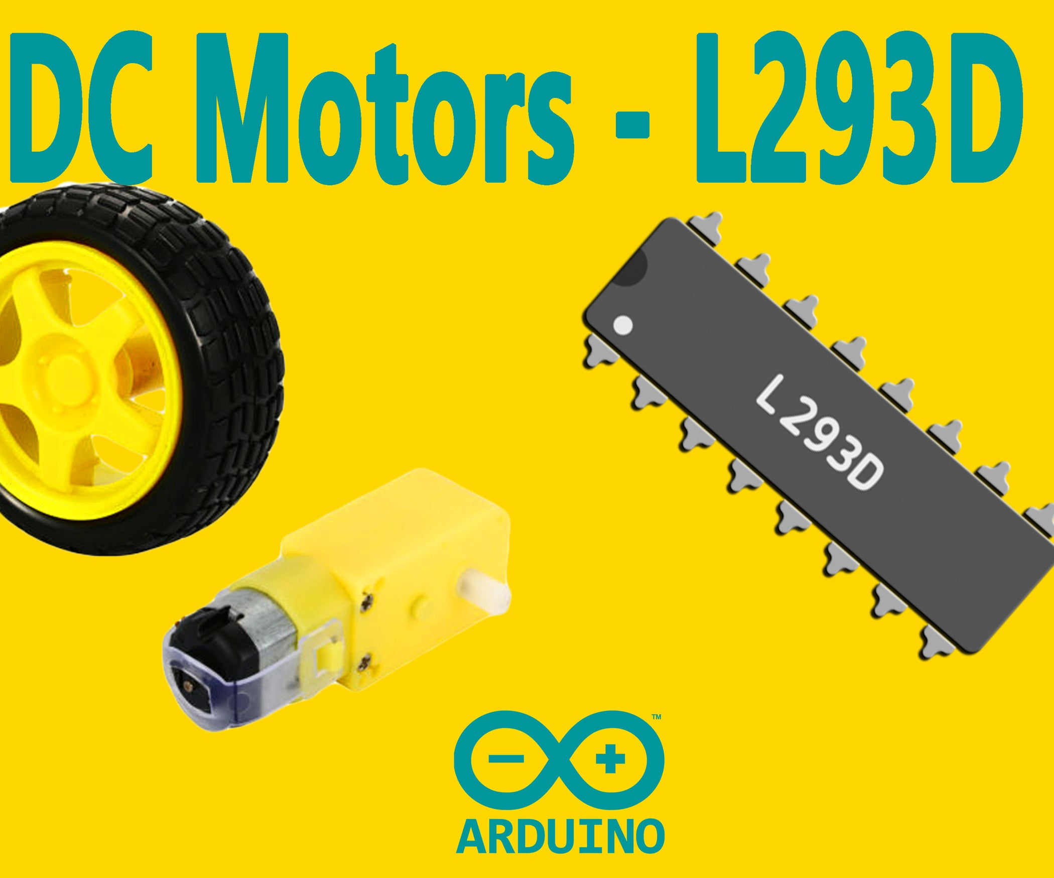 Dc Motor Forward And Reverse Circuit Youtube Arduino How To Control Motors With L293d Driver 5 Steps Pictures