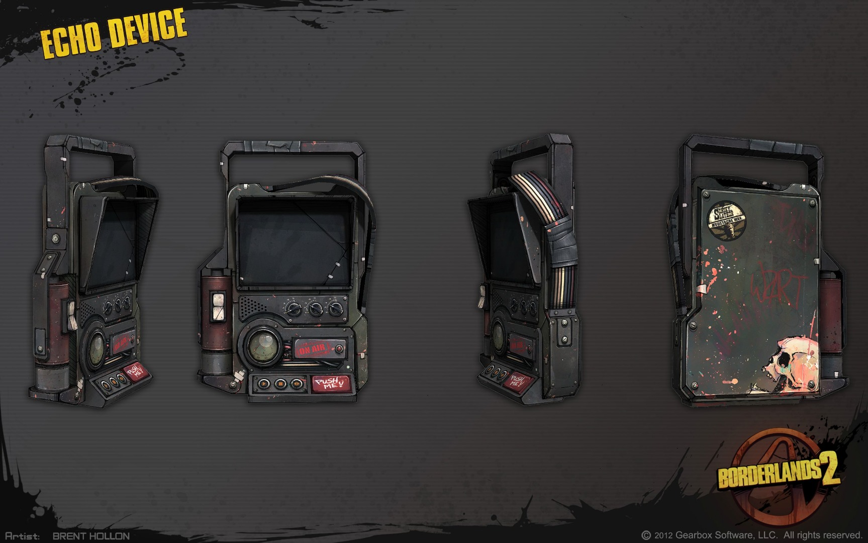 Picture of Borderlands 2 Echo Device