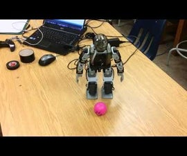 Creating a Remote Color Tracking CM-530 Soccer Robot
