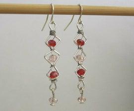 Valentine's Day Dangling Earrings
