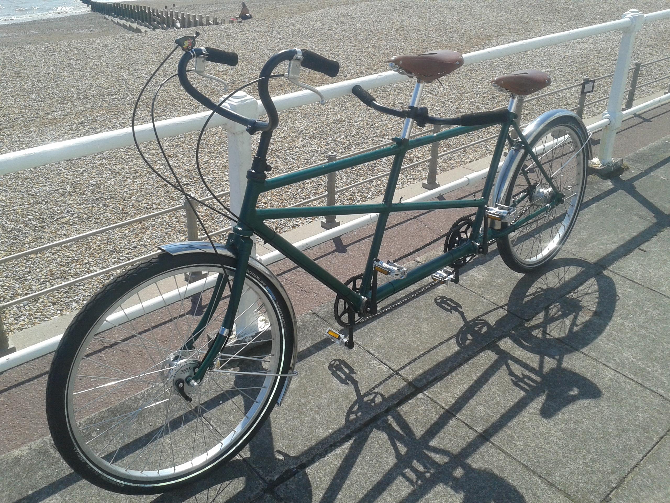 Picture of Restoring Vintage Tandem Bicycle