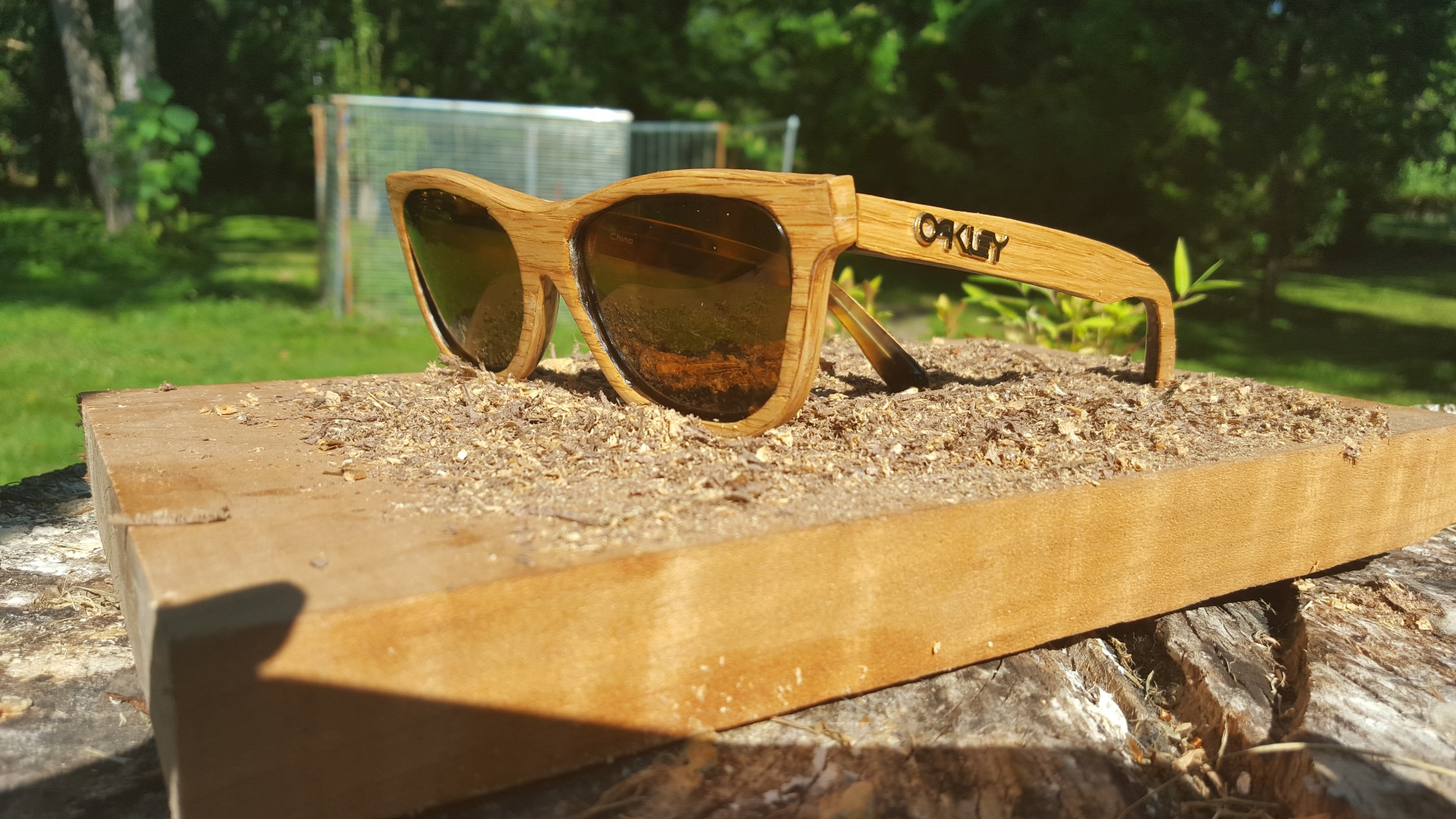Picture of Wood Sunglass