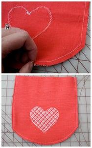 DIY Valentines Mail Pouch