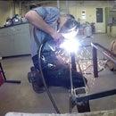 Blacksmithing Tool Rack