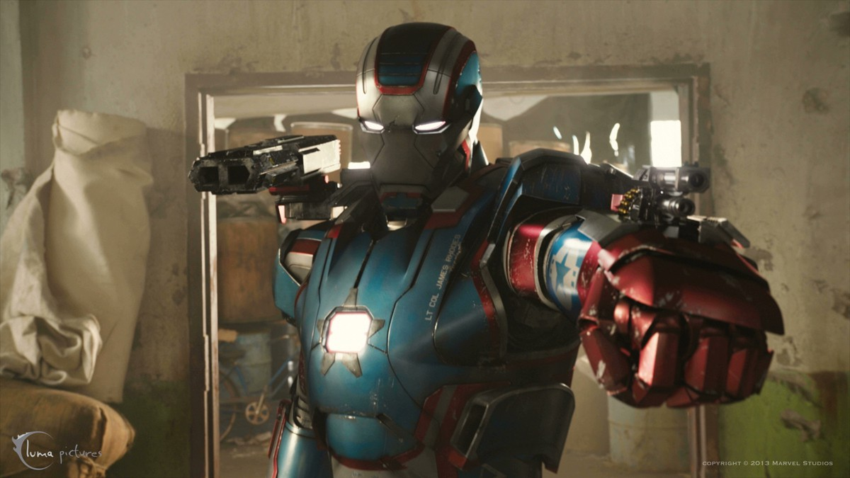 Picture of IRON MAN PROJECT 8 (THE FINAL PROJECT): IRON PATRIOT ARM MISSILE LAUNCHER