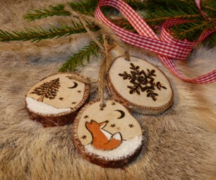 Easy Pyrography Ornaments