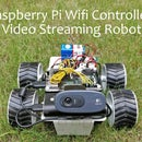 Raspberry Pi Wifi Controlled Video Streaming Robot