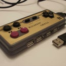 Turn Your NES Controler In To 4 Port USB Hub