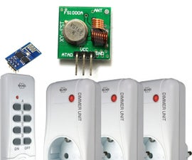 Home automation with ESP8266 and 433 MHz Switches
