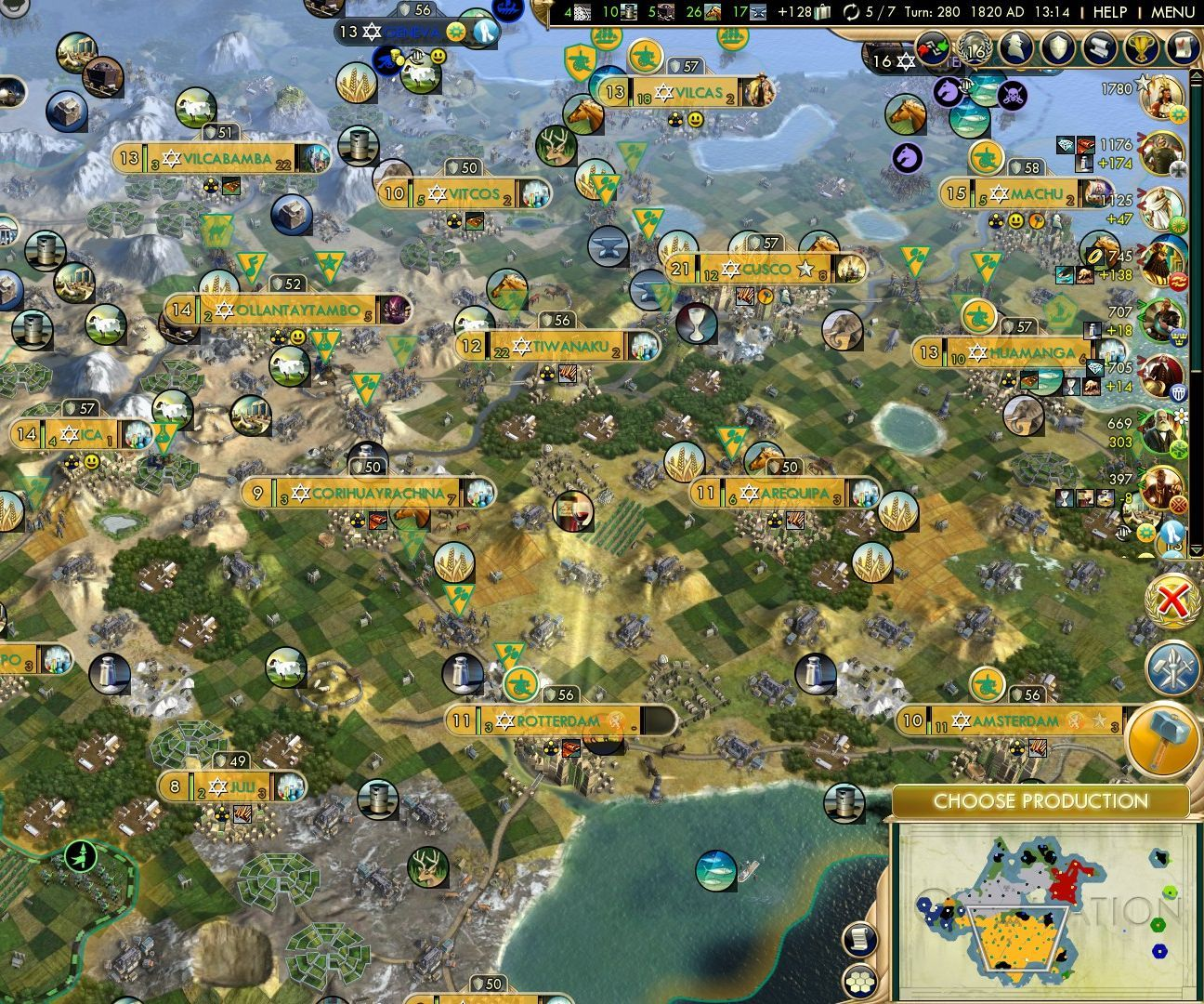 Sid Meier's Civilization V: How to Build a Wide Empire: 4 Steps