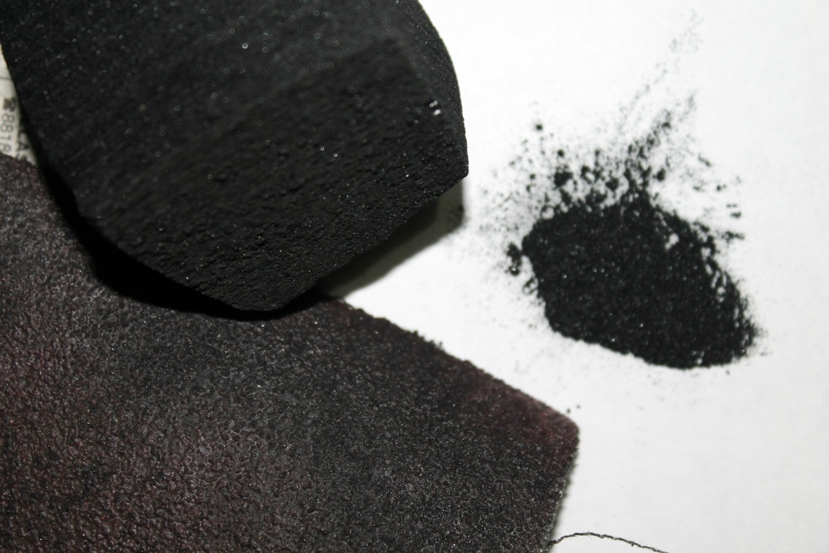 Picture of Making the Coal Powder