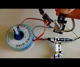 Arduino Nano and Visuino: Control Servo with Rotary Encoder