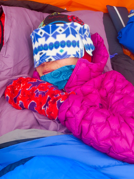 Picture of Stay Warm and Cosy With Your Winter Camping Sleep Mask!