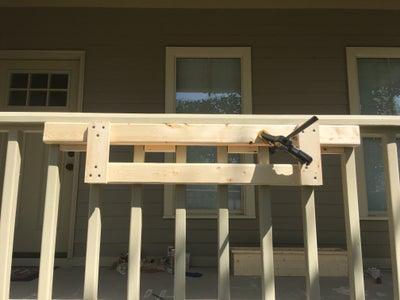 Support Cradle 2 - Lower Blocking Bar