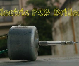 Mini Electric PCB Driller