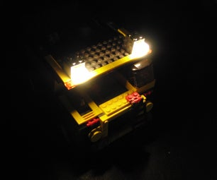 DIY LED ALUMINUM LEGO