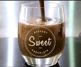 RICH VELVELTY CHOCOLATE SMOOTHIE- Low calorie