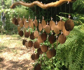 How to Make Pressed Penny Wind Chimes (+ Sound File)