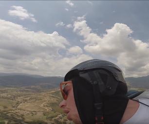 Anti-Motion Sickness Training for Free Flight