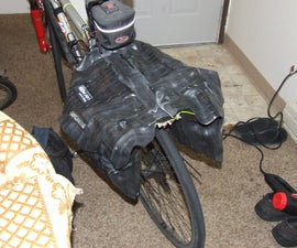 Inner Tube Bicycle Pannier