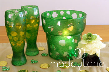 Picture of St Patricks Lucky Charm Creation