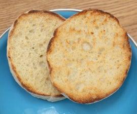 Easy Overnight English Muffin Recipe