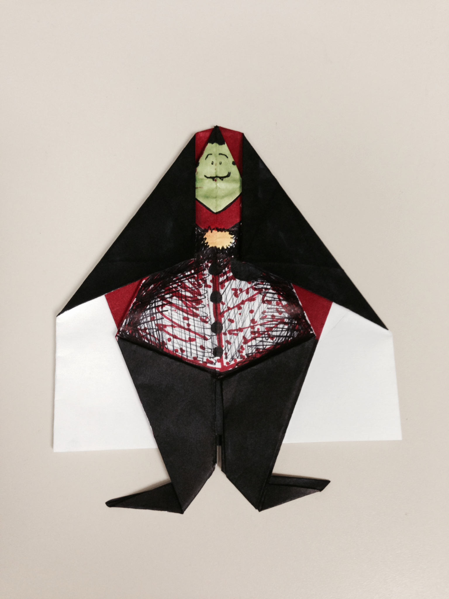 Picture of Origami Dracula